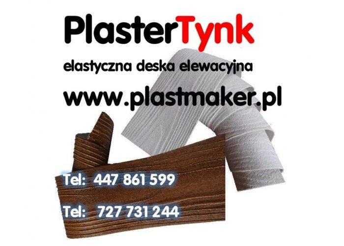 Promocja PlasterTynk elastyczna IMITACJA DREWNA NA ELEWACJE