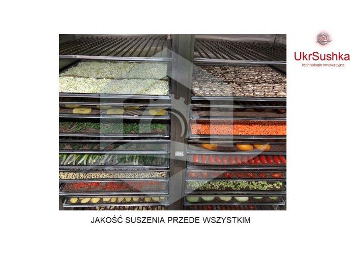 Suszarnia, Szafy, Linii Produkcyjne do suszenia typu podczerwonego produktów spo
