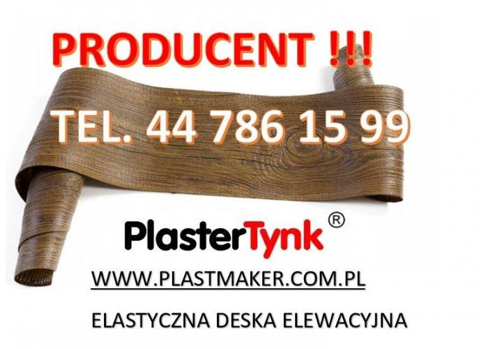 PlasterTynk ,elastyczna deska elewacyjna imitacja drewna.Dekostyl,perfectstyr,de
