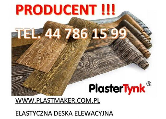 PlasterTynk - Elastyczna Deska Elewacyjna / Dekorlux ,Dekostyl, Perfectstyr, Dek