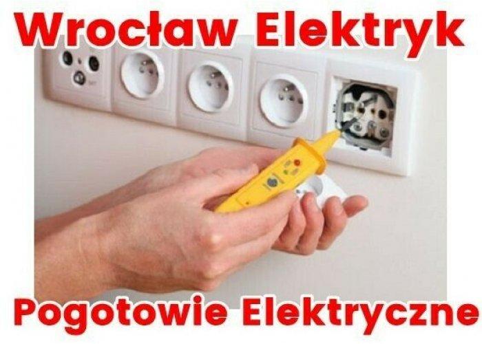 Elektryk Wrocław 24. Pogotowie Elektryczne Całodobowe. Serwis Elektryczny