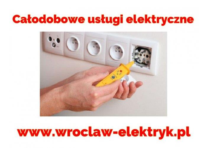 Całodobowe pogotowie elektryczne Wrocław, Elektryk 24h