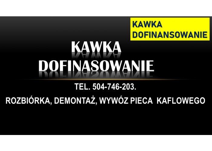 Program Kawka, dofinansowanie do wymiany ogrzewania, pieca kaflowego, Wrocław.