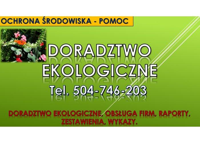Doradztwo ekologiczne, tel. 504-746-203. Hałas, odór, fetor, przyrody, ekologia,
