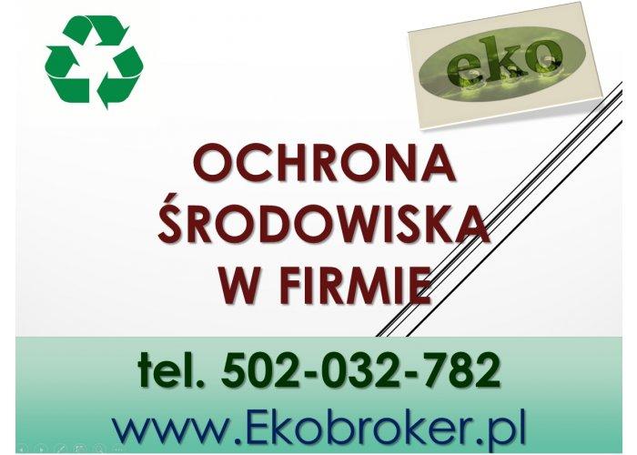 Opłat środowiskowe, tel. 502-032-782, obliczanie, pomoc, wykaz opłat za korzysta