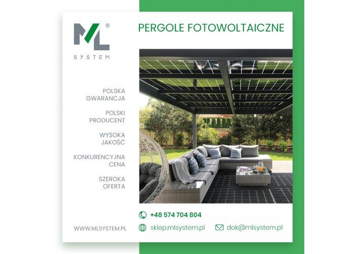 FOTOWOLTAIKA - Pergole - Fotowoltaiczne zadaszenie ogrodowe