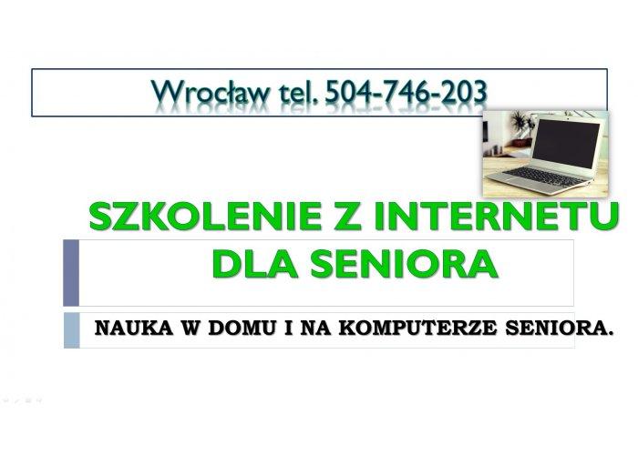 Aktywizacja seniora, tel. 504-746-203, Indywidualna nauka komputera, Wrocław