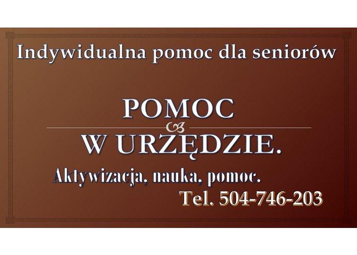 Indywidualna pomoc osobie starszej tel. 504-746-203, sprawy przez Internet