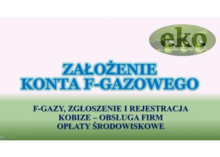 CRO, F-gazy, założenie konta, rejestracja, tel. 502-032-782, czynnik chłodzący.