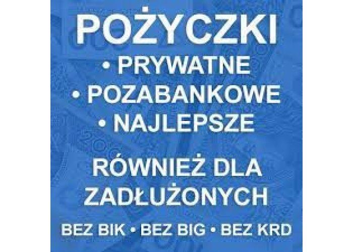 Pozyczki Pozabankowe Bez Baz i Opłat,Nawet Dla Osób Zadłużonych i z Komornikiem.
