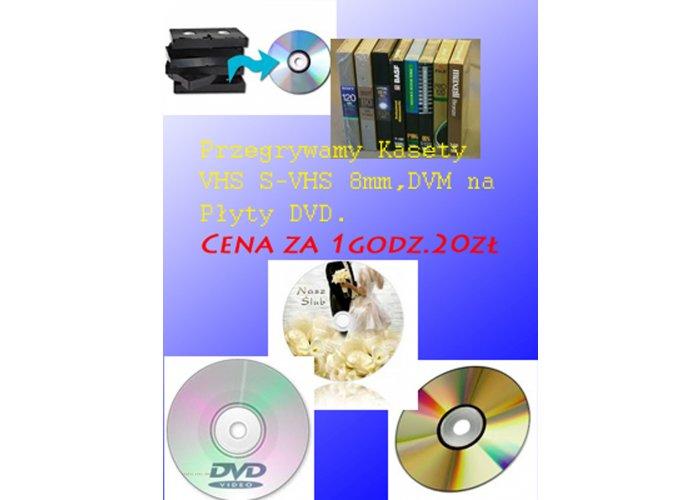 Skanowanie slajdów Przegrywanie VHS
