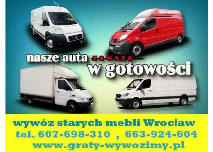 Wywóz starych mebli Wrocław,opróżnianie mieszkań,piwnic,wywóz wersalek,meblościa
