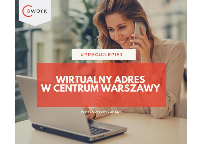 PROMOCJA!!!! NAJTANIEJ W MIEŚCIE Wirtualne Biuro / Adres w CENTRUM Warszawy już