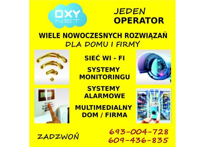 Oxynet - usługi dla Klienta Indywidualnego i Biznesu.