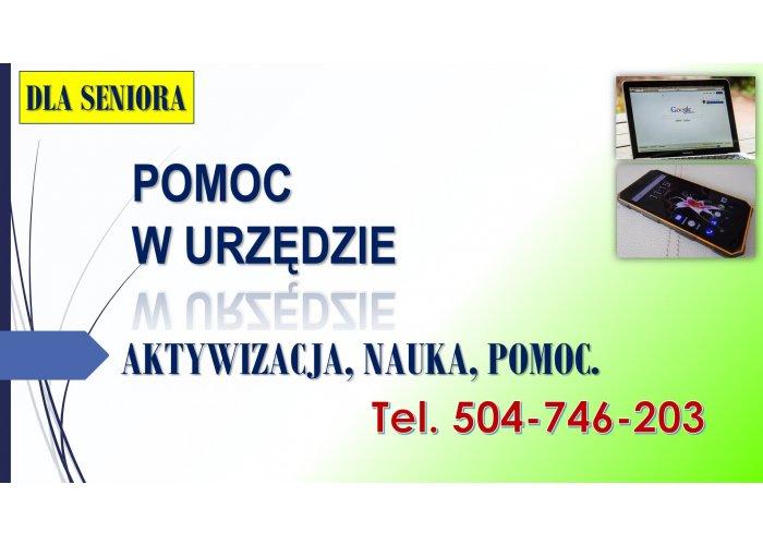 Aktywizacja osób starszych, tel. 504-746-203, nauka korzystania z Internetu, pom