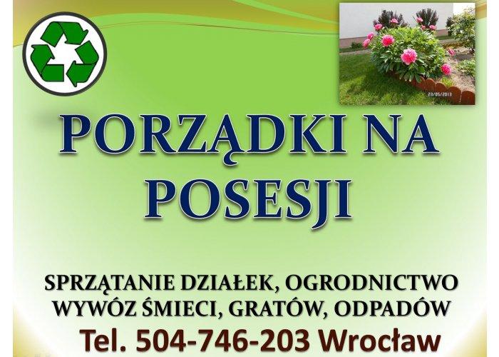 Usługi ogrodnika, Wrocław, tel. 504-746-203. Pielęgnacja zieleni, cena