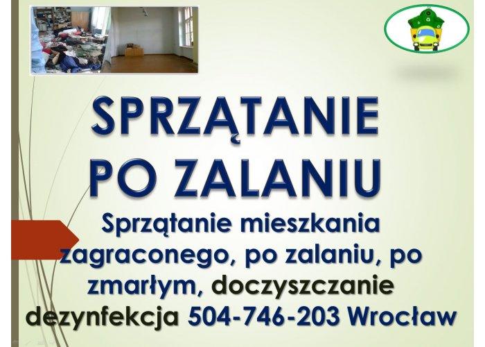 Dezynfekcja mieszkań i lokali, Wrocław, tel. 504-746-203, cennik usług